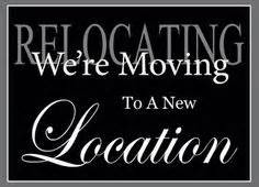 We're moving to a new location